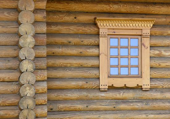 Donetsk the wooden monastery of all saints in svyatogorsk